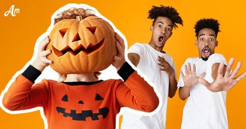 Daily Joke: Man Surprised His Friends with a Huge Pumpkin Head Instead of His Own