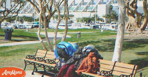 Homeless Man Falls for Rich Girl He Met at the Park and Waits for Her Every Day to Return – Story of the Day