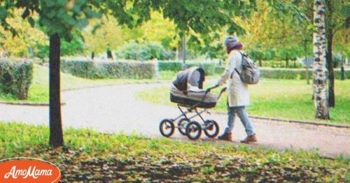 Walking past Young Mom with Baby, Older Lady Hears Lullaby She Wrote for Her Long-Lost Kid — Story of the Day