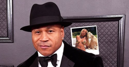 LL Cool J's Daughter Nina Flaunts Her Hourglass Body in Itty-Bitty Swimsuit Posing with a Dog