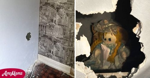 Man Told to Move Out after Finding Creepy Rag Doll inside the Wall of His House