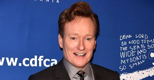 Conan O'Brien's Stage Crashing Antics at the 2021 Emmy Awards Was Partly Stephen Colbert's Idea