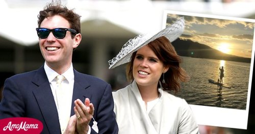 Princess Eugenie Shares 'Truly Precious Memories' with Baby August during a Walk in the Park