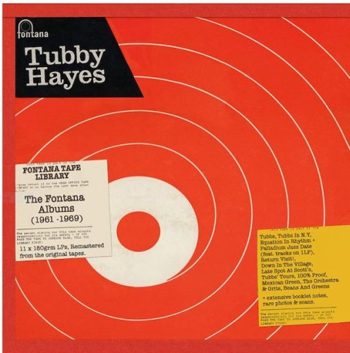 The Records You Didn't Know You Needed---#6: Tubby Hayes The Fontana Albums (1961-1969) Eleven LP Box Set