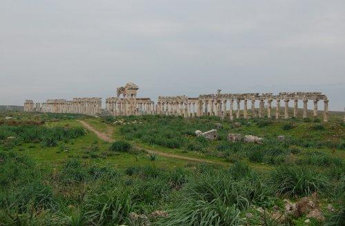 Apamea, Syria: Roman Ruins in a Warzone – History et cetera