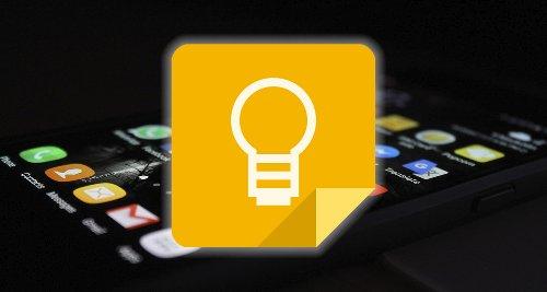 ¿Dónde se guardan los archivos de Google Keep?