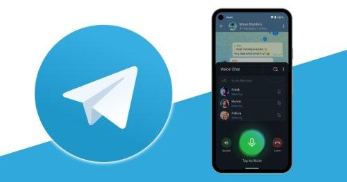 Chats de voz en Telegram: guía completa con todas sus funciones