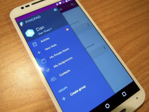Pingpad brings collaborative lists and notes to Android