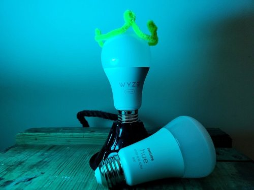 Can the lower cost Wyze Bulb Color take down the stalwart Philips Hue?