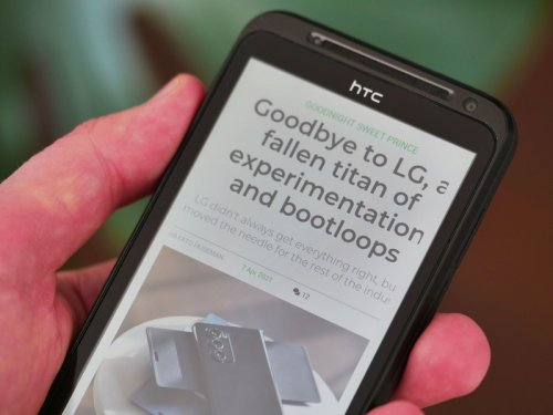 HTC EVO 3D: Revisiting a decade-old technological dead-end