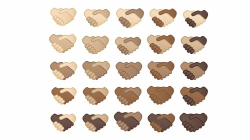 Multi-skin toned handshake emojis coming to Android