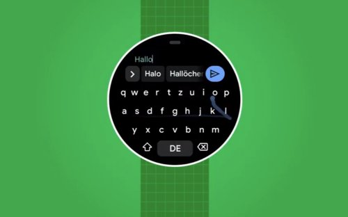 Gboard app for Wear OS now available