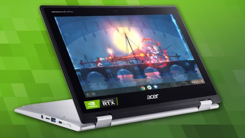 Nvidia and MediaTek join forces for RTX GPUs you can actually buy (in a Chromebook)