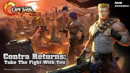 Contra blasts its way onto mobile as a side-scrolling shooter, and so far fans aren't happy