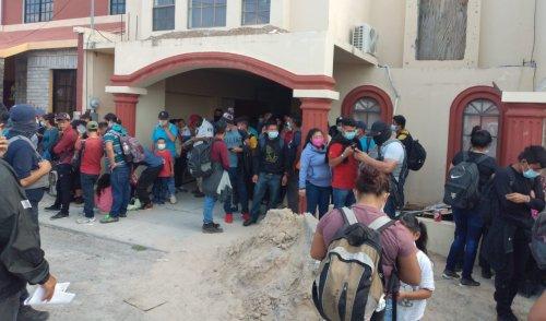 Policías de Tamaulipas rescatan a 116 migrantes en Miguel Alemán