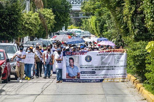 Marchan para exigir la localización del exportero de Los Avispones