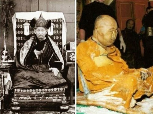 Remains That Inexplicably Never Decay of Monk Dashi-Dorzho Itigilov