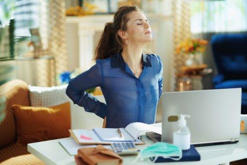 Effetti collaterali dello smart working, sedentarietà forzata e mal di schiena, i consigli per stare meglio - Lifestyle