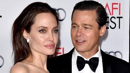 Las reveladoras fotos de Angelina Jolie con su primer marido tras sus problemas con Brad Pitt