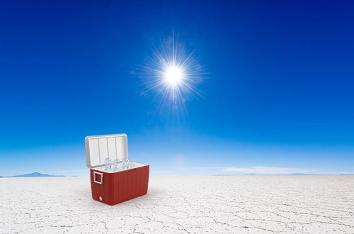 Salt + sunlight powers an innovative electricity-free cooling system