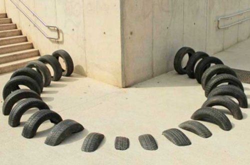 Researchers make concrete greener and stronger with scrap tires