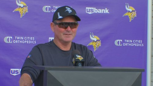 Vikings head coach Mike Zimmer frustrated with players refusing COVID vaccine
