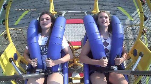 Video captures moment seagull struck amusement park rider in Wildwood