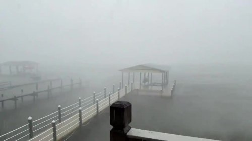 Claudette brings strong winds to Alabama's Gulf Coast