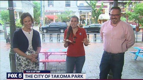 FOX 5 Zip Trip Takoma Park: Summer weekend getaway ideas