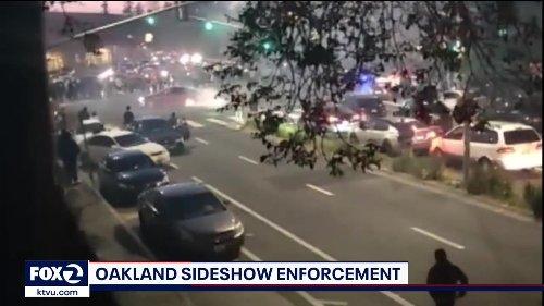 "Amid surge in gun violence, OPD deploys ""Sideshow Enforcement"" unit"