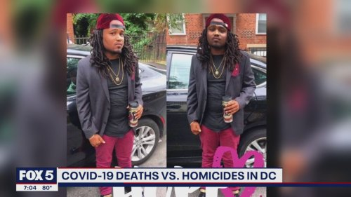 Murders outpace COVID-19 deaths in DC in July