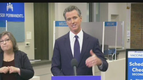 California orders all state workers, health care workers to be vaccinated or tested weekly, Newsom announces