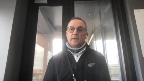 WATCH - Red Wings GM Steve Yzerman on trading Mantha to Washington
