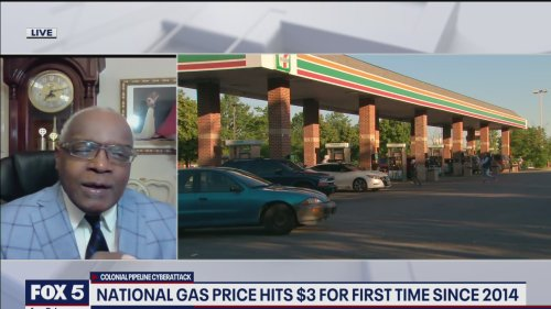 DC, Maryland and Virginia fuel shortages grow as gas prices rise following cyberattack on Colonial Pipeline