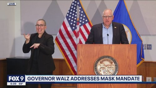 Gov. Walz announces statewide mask mandate will end on Friday morning