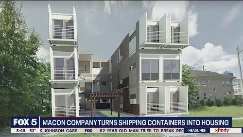 Georgia company turns shipping containers into housing