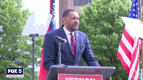 Former Georgia State Rep. Vernon Jones announces run for Governor