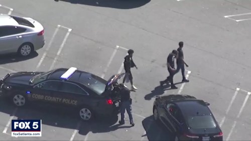 1 arrested, 2 on the run after armed robbery in Town Center Mall