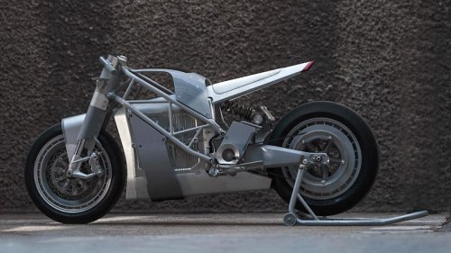 UMC Zero XP electric motorcycle is a futuristic streetfighter
