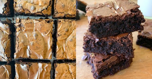I Tried the Glossy Fudge Brownies Reddit Is Obsessed With. Spoiler Alert: They're Perfect.