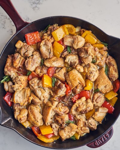 The Italian Chicken Dinner I Make Over and Over Again (It's Absolutely Foolproof)