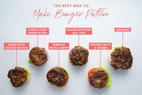 We Tried 6 Popular Methods for Better Burger Patties and the Winner Was a Complete Surprise
