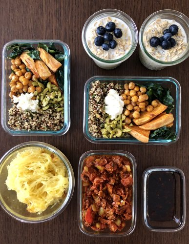 Meal Prep Plan: How I Prep a Week of Easy Meals for One in Just Over an Hour