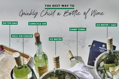 We Tested 6 Different Methods for Quickly Chilling a Bottle of Wine — And the Winner Only Took 15 Minutes