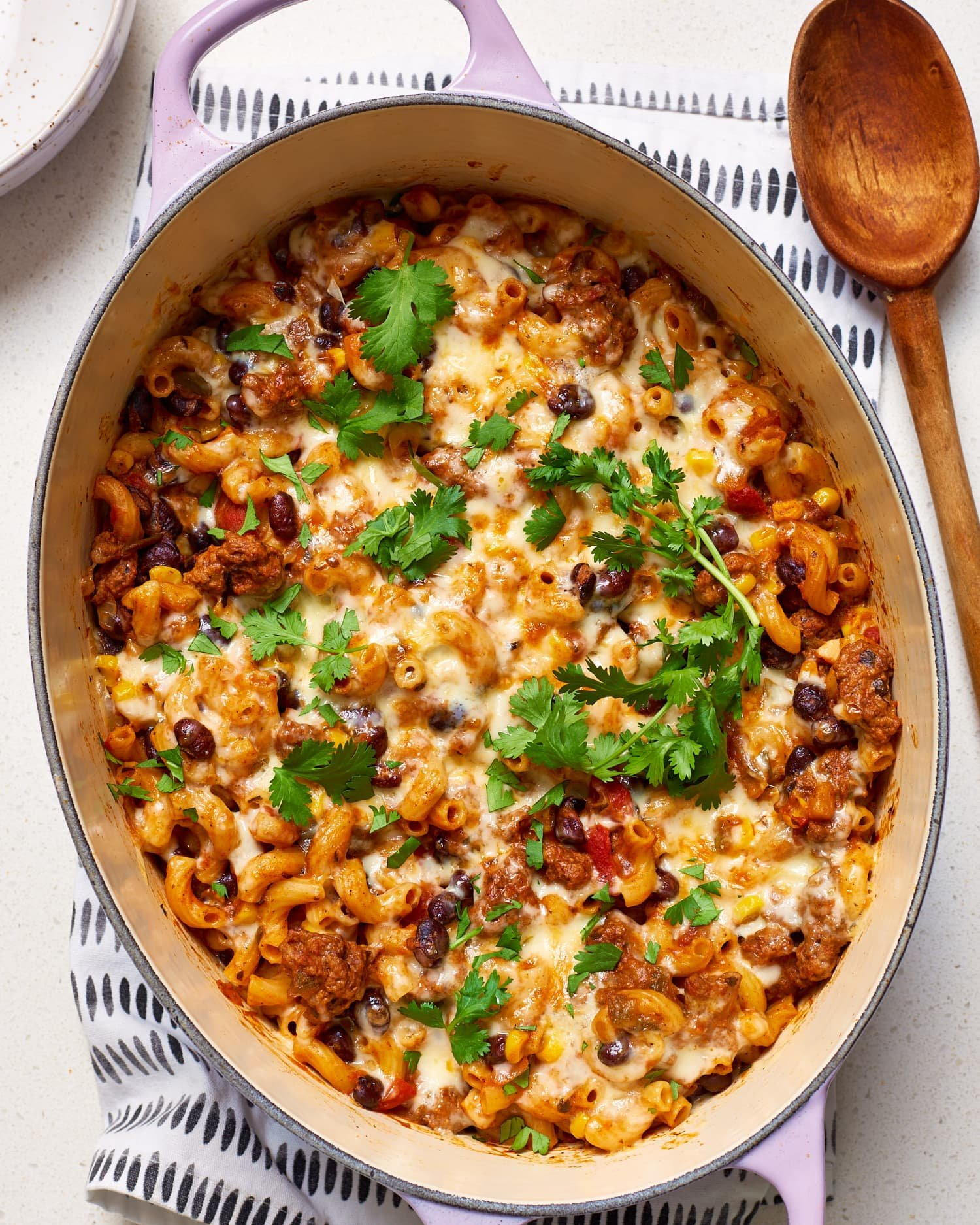 Cheesy Taco Pasta Means You Don't Have to Choose