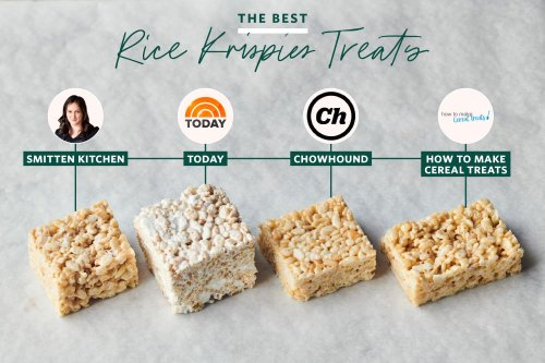 We Tested 4 Famous Rice Krispies Treat Recipes and Found the Only One You'll Ever Need