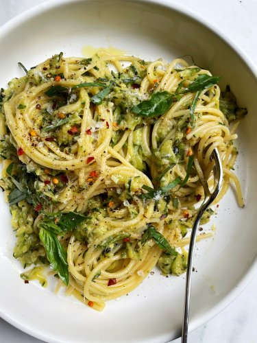 I Tried Smitten Kitchen's Zucchini Butter Pasta and It's the Dish of the Summer