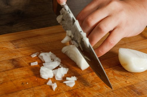 The Onion Chopping Tip You'll Wish You Knew Years Ago (No More Tears!)