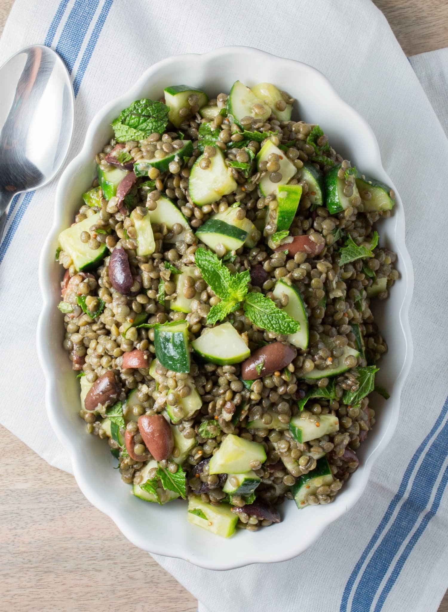 This Easy Cold Lentil Salad Is One of Our Best Make-Ahead Meals