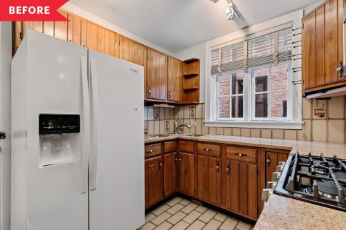Before and After: An Awkward 94-Square-Foot Kitchen Is Now Much More Functional